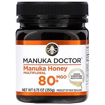 Manuka Doctor, Manuka Honey Multifloral, MGO 80+, 8,75 oz (250 g)