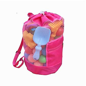 Portable Sea Storage Mesh Bags Beach Sand Toys- Net Bag Water Fun Sports