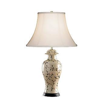 1 Lampe de table légère Noir, Or, E27