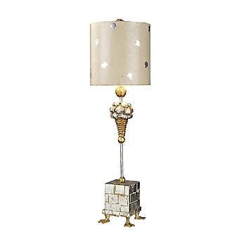 1 Lampa stołowa stalowa, E27