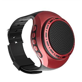 U6 Watch Bluetooth Speaker Card With Radio Portable Outdoor Sports