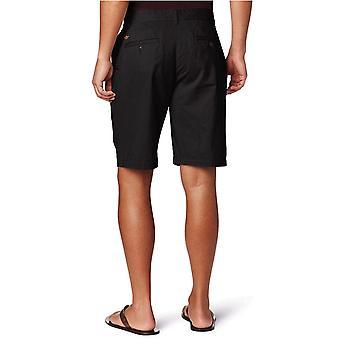 Dockers Men's Classic Fit Perfect Short Cotton D3, Black), 36W
