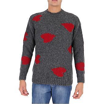 Stella Mccartney 601873s72108490 Men's Grey Wool Sweater