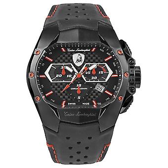 Tonino Lamborghini - Wristwatch - Men - GT1 - red - T9GA