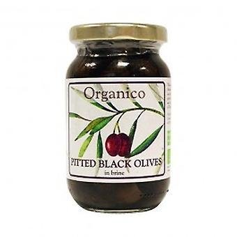 Vinhedos todo preto azeitonas em salmoura & erva - vinhedos todo preto azeitonas em salmoura & Herb