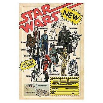 Star Wars, Maxi Poster - Action Figures