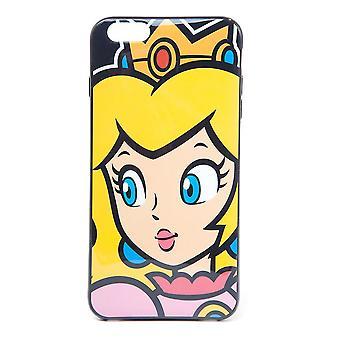 Nintendo Princess Fersken Ansikts telefondeksel til Apple iPhone 6 Plus (PH180313NTN6P)