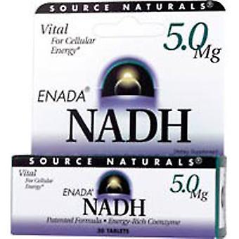 """מקור Naturals NADH, 5 מ""""ג, 90 טבליות"""