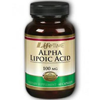 Life Time Nutritional Specialties Alpha Lipoic Acid, 100 mg, 60 caps