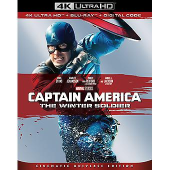 Captain America: Winter Soldier [Blu-ray] USA import
