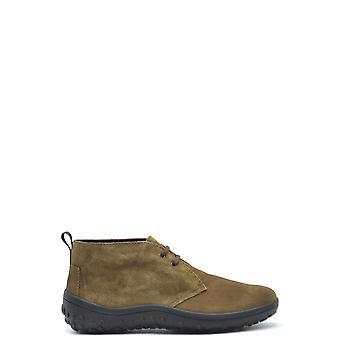 Car Shoe Ezbc029029 Men's Beige Suede Ankle Boots