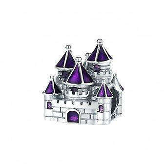 Sterling Silver Charm Fairytale Castle - 6399