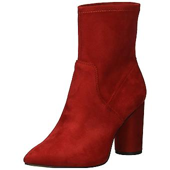 BCBGeneration Women's Ally Fashion Boot, Rich Red, 5.5 M US
