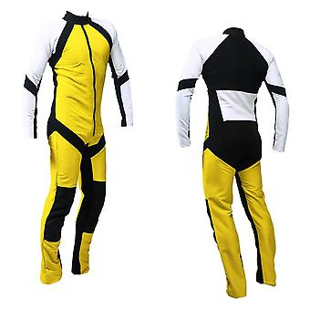 Freefly skydiving suit yellow-white se-09