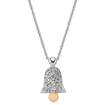 Glocke Diamant Halskette