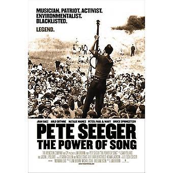 Pete Seeger die Macht der Song Movie Poster drucken (27 x 40)