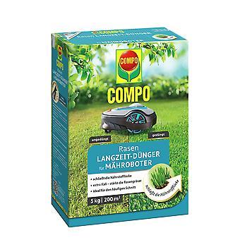 COMPO Lawn Long-Term Fertilizer for RoboticS, 5 kg
