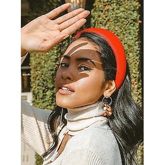 Mari Bold Stirnband In Samt
