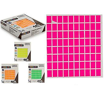 Étiquettes Auto-adhésifs Rectangulaires (12 x 18 mm) (400 uds)