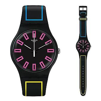 Relógio swatch novo modelo de coleção suob146