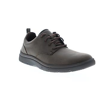 Clarks Tunsil Lane Herren Braun Leder Lifestyle Sneakers Schuhe