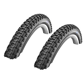 """Velo.Set 2 x Schwalbe Mad Mike Bicycle Tires = 57-305 (16x2,25"""")"""