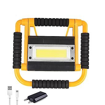Brightness Led Work Lamp, Usb Rechargeable Torch