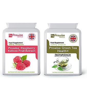 Raspberry Ketones + Green Tea