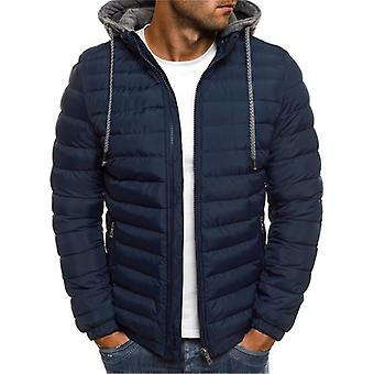 Winter Thick Hooded Jacket-detachable Hat