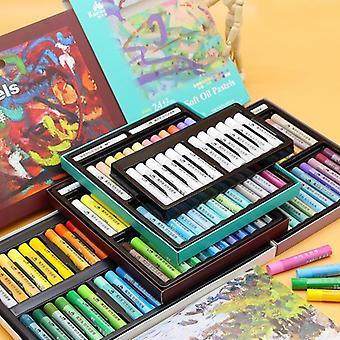 Kuelox Art Soft Oil Pastel/crayon Macaron/morandi/artist Grade Colors Water