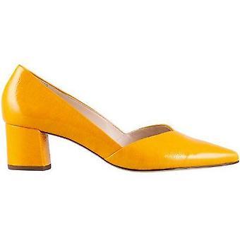 Hogl personlighet gula klackar kvinnors gul