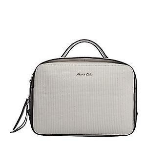 Maria Carla Woman's Fashion Luxury Nahka käsilaukku, Sileä nahkalaukku