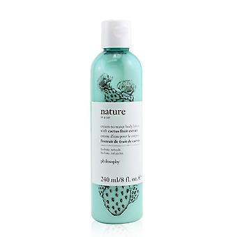 Nature In A Jar Cream-to-water Body Lotion With Cactus Fruit Extract - 240ml/8oz