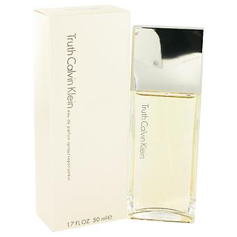 TRUTH de Calvin Klein Eau De Parfum Spray 1.7 oz/50 ml (femmes)