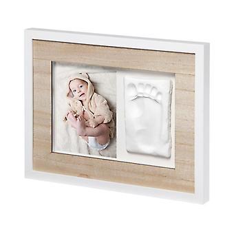 Baby art tiny style touch single frame en bois