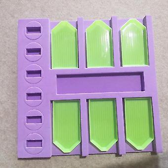 6-grid Point Manual, Storage Rack, Cross Stitch Diamond, Painting Plate