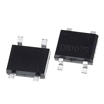 Smd Db107 Db107s 1a 1000v Single Phases Diode Rectifier Bridge