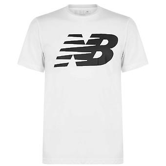 جديد التوازن شعار الرسم QT تي قميص الرجال