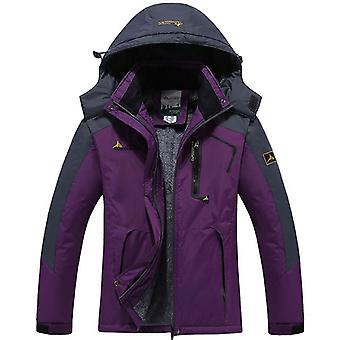 Women Jackets Waterproof Windproof Hooded