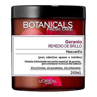 Hair Mask Geranio Remedio de Brillo Botanicals (200 ml)