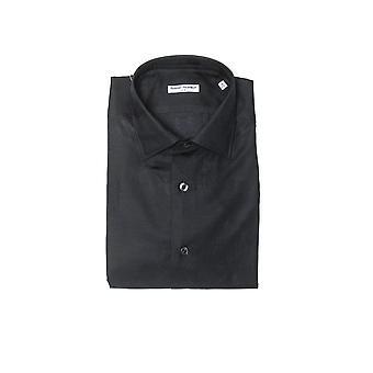 Robert Friedman mäns svarta skjorta