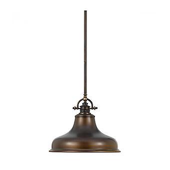 Lámpara Colgante Emery, Bronce Paladio, Mediano