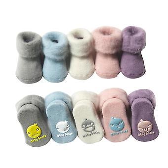 الشتاء سميكة الجوارب القطنية الدافئة للطفل /