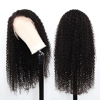 Beumax Hairs Kinky Curly  Human Hair Wigs With 13x4 Lace Frontal 180%