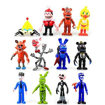 12pcs Five Nights At Freddy's Action Figure Toy