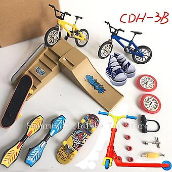 Mini Finger Skateboarding Fingerboard Bmx Fahrrad Scooter Schuhe Skateboardboards