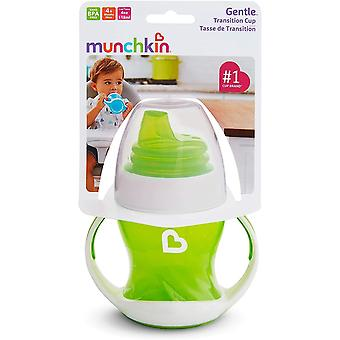 Munchkin Gentle Transition Trainer Cup 125ml Green x 2 cups