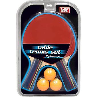 M.Y 2 Player Table Tennis Set
