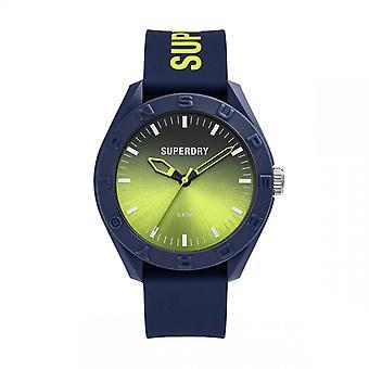 Herreur Superdry SYG321UN - Blå Silikone armbånd