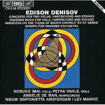 Edison Denisov - Edison Denisov: Verk för kammarorkester [CD] USA import